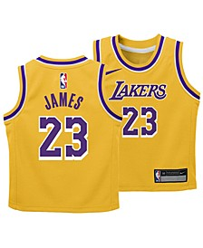LeBron James Los Angeles Lakers Icon Replica Jersey, Toddler Boys (2T-4T)