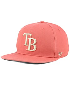 Tampa Bay Rays Island Snapback Cap