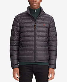 Polo Ralph Lauren Men's Big & Tall Packable Quilted Down Jacket