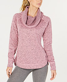 Ideology Sweater-Knit Cowl-Neck Top, Created for Macy's