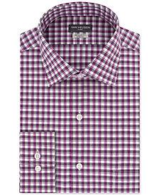 Van Heusen Men's Classic/Regular Fit Flex Collar Stretch Check Dress Shirt
