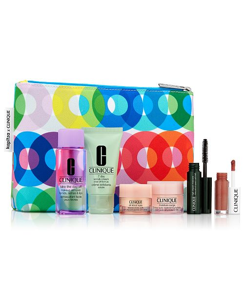 Clinique Receive your FREE 7-Pc. gift with any $29 Clinique purchase! (