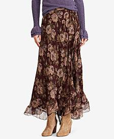 Polo Ralph Lauren Floral-Print Maxiskirt