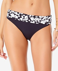 Anne Cole  Itsy Bitsy Ditsy Printed Bikini Bottoms