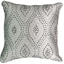 Chacenay Knotted Embroidery Decorative Pillow