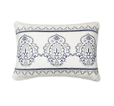 Indochine Embroidered Decorative Pillow