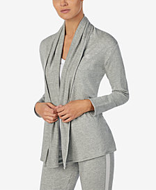 Lauren Ralph Lauren Draped Open-Front Cardigan