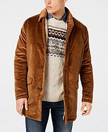 Bar III Men's Classic/Regular Fit Corduroy Overcoat, Created for Macy's