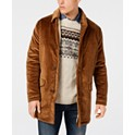 Bar III Men's Classic/Regular Fit Corduroy Overcoat