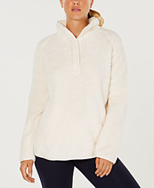 32 Degrees Half-Snap Fleece Top