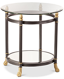 Allesandro End Table, Quick Ship