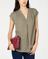 ab61aa8ebdf25d olive green blouse - Shop for and Buy olive green blouse Online - Macy s