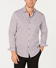 Tasso Elba Men's Rabelo Medallion Shirt, Created for Macy's