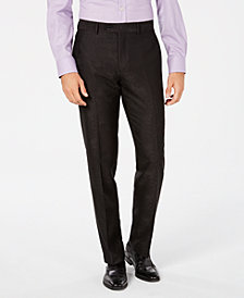 Bar III Men's Slim-Fit Brocade Dress Pants, Created for Macy's