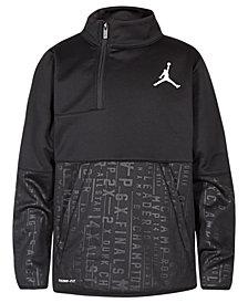 Jordan Big Boys 23 Tech Accolades Colorblocked Pullover Jacket