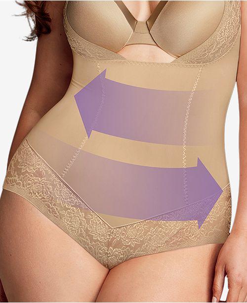 0632cd7cfcc ... Maidenform Women s Firm Foundations Curvy Plus Size Firm Control Wear  Your Own Bra Body Shaper DM1025 ...