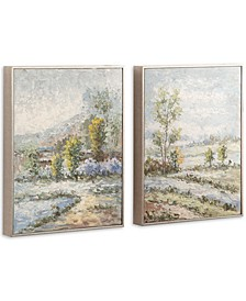 Wayward Rivers Landscape Art Set of 2