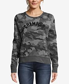 Heritage Vintage-Dyed Camo-Print Fleece Sweatshirt