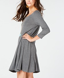 Style & Co Petite Swing Dress, Created for Macy's