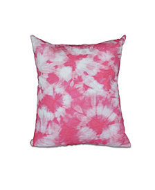 Chillax 16 Inch Pink Decorative Nautical Throw Pillow