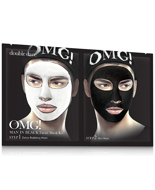 Double Dare OMG! Man In Black Facial Mask