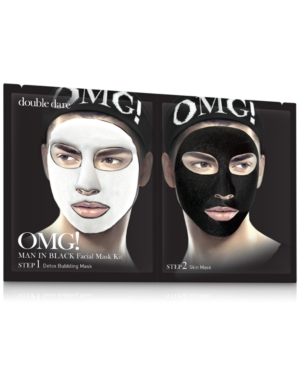 Omg! Man In Black Facial Mask
