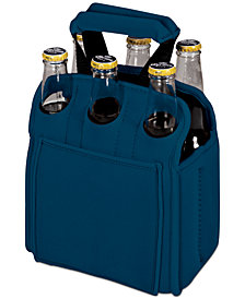 Picnic Time Six Pack Blue Beverage Carrier