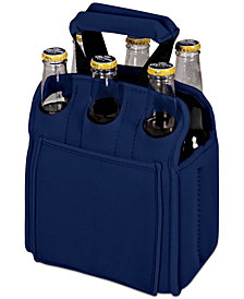 Picnic Time Six Pack Navy Beverage Carrier