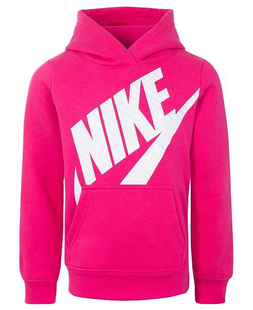 f549fb9d5 Nike Toddler Girls Futura Fleece Logo-Print Hoodie & Reviews ...