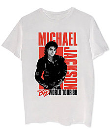Michael Jackson Bad World Tour Men's Graphic T-Shirt