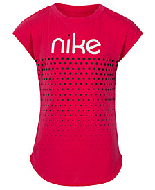 Nike Little Girls Graphic-Print T-Shirt