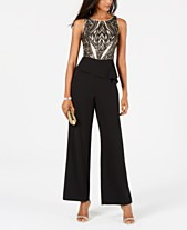 b8c1dedf080 Adrianna Papell Jumpsuits   Rompers for Women - Macy s