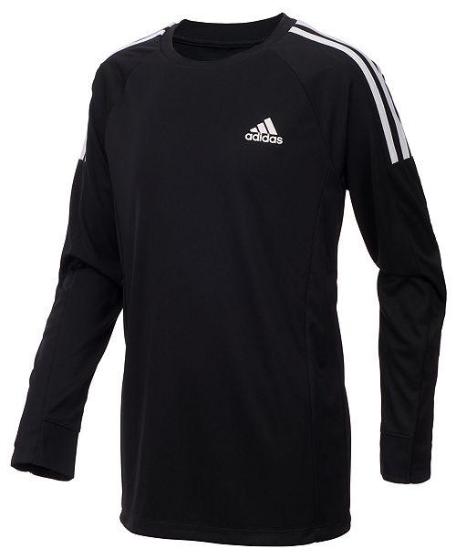 639febf83 adidas Big Boys Challenger Logo-Print T-Shirt & Reviews - Shirts ...