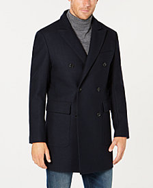 Michael Kors Men's Classic/Regular-Fit Double-Breasted Topcoat