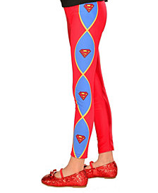 SuperGirl Footless Tights