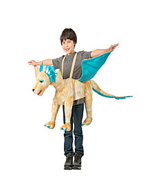 Royal Gold Ride-In Dragon Boys Costume