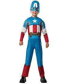 Avengers Assemble Captain America Toddler Boys Halloween Costume
