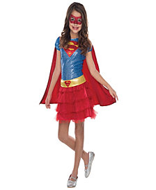 Supergirl Sequin Girls Costume