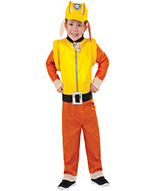 Paw Patrol: Rubble Classic Toddler Boys Halloween Costume