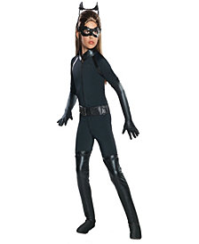 The Dark Knight Rises Deluxe Catwoman Girls Costume