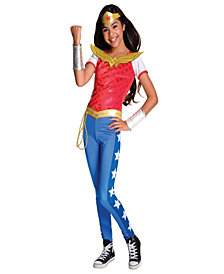 DC Superhero Girls: Wonder Woman Deluxe Girls Costume