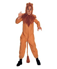 The Wizard of Oz Cowardly Lion Little and Big Boys Costume