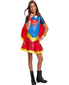 Dc Super Hero Supergirl Hoodie Girls Dress