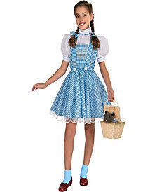 The Wizard of Oz Dorothy Deluxe Girls Costume