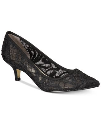 245fdc2a096 Adrianna Papell Lois Lace Evening Pumps   Reviews - Pumps - Shoes - Macy s