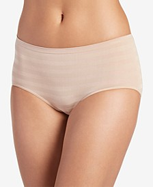 Matte & Shine Seamless Striped Modern Brief Underwear 2299