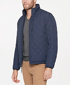 Men's Fillmore Quilted Sherpa Fleece-Lined Jacket