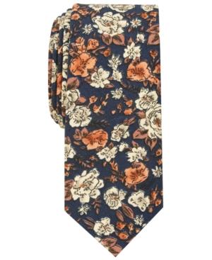 1960s – 70s Men's Ties   Skinny Ties, Slim Ties Bar Iii Mens Madison Floral Skinny Tie Created for Macys $55.00 AT vintagedancer.com