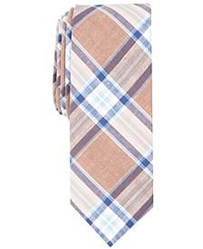 Penguin Men's Widmark Check Skinny Tie