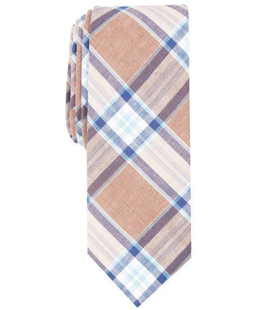 Original Penguin Penguin Men's Widmark Check Skinny Tie
